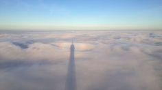 über den wolken von paris ,auf der spitze des eifelturms