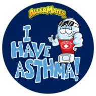 Sticker Astma