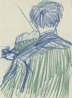 Violinist Seen from the Back, 1887, Vincent van Gogh, Van Gogh Museum, Amsterdam (Vincent van Gogh Foundation)