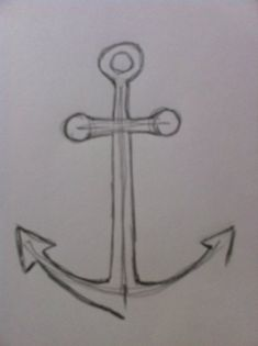 Flower Drawings Tips If you want to learn to draw a simple and easy anchor then you need to take a look at this drawing tutorial. It teaches you a step-by-step process to draw a simple anchor quickly. Find out more. Anchor Drawings, Animal Drawings, Flower Drawings, Pencil Drawings, Couple Drawings, Easy Drawings, Fire Flower, Drawing Tips, Drawing Ideas