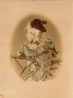 Palefrenier tatoué, vers 1867