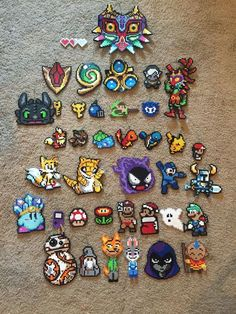 We made all our Christmas ornaments this year! Fun video game characters with a few TV and movies characters as well. (X-post r/gaming) http://ift.tt/2gq5Mep . how to make your own #crafts follow @cutephonecases