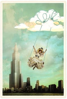 Falling into the sky by *hogret on deviantART