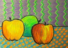 Still Life in the style of Cezanne, a simple and direct art lesson for all ages