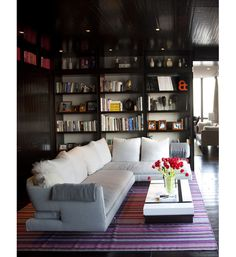 home library idea but need more shelves!