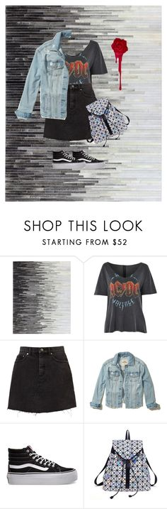 """""""HangOut Outfits"""" by sh1004an on Polyvore featuring beauty, Topshop, Hollister Co. and Vans"""