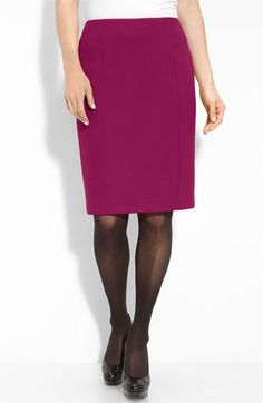 please welcome to my wardrobe... halogen berry pencil skirt
