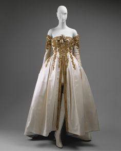 Karl Lagerfeld for Chanel dress ca. 1990 via The Costume Institute of the Metropolitan Museum of Art