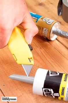 Tips for Caulking