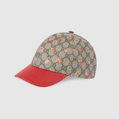 Gucci children's cap with strawberry print and hibiscus red supreme canvas details. Cute Casual Outfits, Girl Outfits, Gucci Kids, Sugar And Spice, Girls Shopping, Hibiscus, Luxury Branding, Supreme, Fashion Accessories
