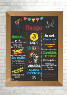 Chalkboard digital -aniversario kids Gifts for a special Occasion