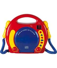 Chad Valley My First Sing Along Kids CD Player.