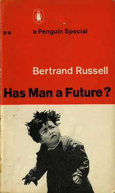 'Has Man a Future' Book Cover