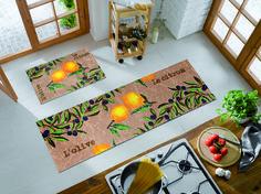 Traditional | French Country | Lemon Yello Floor Mat | Designer Floor Mat | Home Decor Floor Mat | Floor Mat | French Country Lemon Floor Mat | Studio 67 | Studio 67 Floor Mat | Kitchen Mats | Kitchen Floor Mats | Comfortable Kitchen Floor Mat