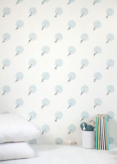 Papier peint kids on pinterest wallpapers cabin beds - Papier peint vintage enfant ...