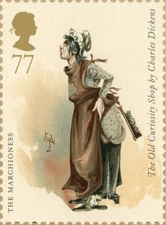 Charles Dickens. Issued June 2012. The Marchioness. The Old Curiosity Shop