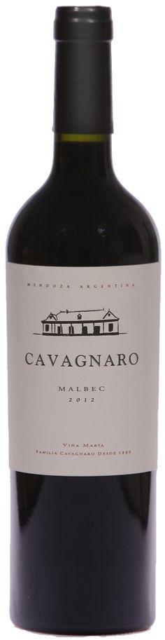 """""""Cavagnaro"""" Malbec 2011 - Bodega Cavagnaro, Maipú, Mendoza--------------------------------- Terroir: Coquimbito------------------- Crianza: 6 meses en barricas de roble francés"""