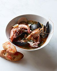 Catalan Fish Stew Contributed by Mark Sullivan      STAFF-FAVORITE  This rich, flavorful Catalan twist on fish stew comes from chef Mark Sullivan, who traveled and cooked in the Mediterranean in his twenties, and returned with a deep affection for the fish stews of the region. Here, the broth is rich and boldly flavored with chorizo and smoked paprika