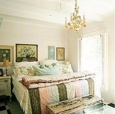 cottage# bedroom# shabby chic#