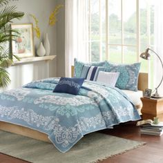 Madison Park Murray 6-pc. Quilted Coverlet Set - JCPenney