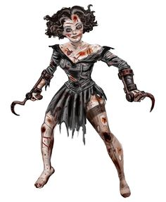 BioShock Art & Pictures,  Hook-hand Female Aggressor