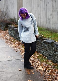 Anthropologie Star Print sweater