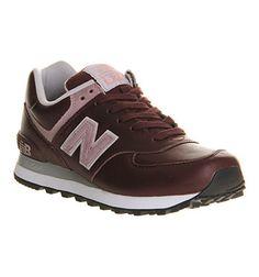New Balance Burgundy - Hers trainers New Balance Women, Trainers, Burgundy, Purple, News, Sneakers, Stuff To Buy, Shoes, Fashion
