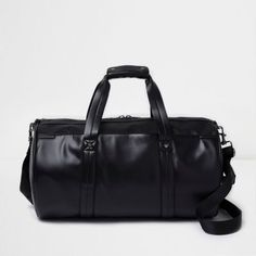 Black front pocket holdall (affiliate) #christmasgifts #christmaspresents #christmasgiftideas #christmasgift #christmaspresent #christmas #christmasgiftguide #forhim #fashion #bag #bags #mensbag #holdall