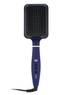 There are a lot of funky looking gadgets that pass through this office each week, and (some of) them actually do answer frustrating beauty problems. The Calista Heated Paddle Brush isn't the craziest looking tool I've ever seen, but...