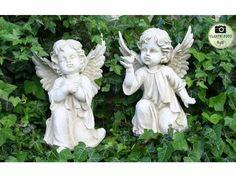 Anděl velký - Bydlení je hračka Garden Sculpture, Google, Outdoor Decor, Home Decor, Decoration Home, Room Decor, Interior Decorating