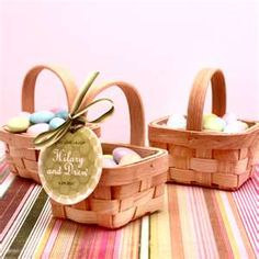 Mini Picnic Basket - Good Things Wedding Favors