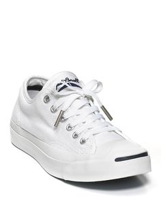 Converse Jack Purcell White Core Sneakers - everyone should have a pair of these in their closet!