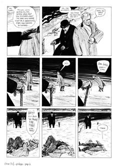 EDDIE CAMPBELL - FROM HELL PROLOGUE PAGE 4 Comic Art