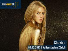 Shakira gastiert auf der «El Dorado» World Tour am 4. Dezember 2017 im Hallenstadion Zürich! Tickets: http://www.ticketcorner.ch/shakira