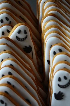 Ghost Cookies---easy and less ghoulish all around.