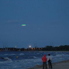 UFO over Gdansk by Peter Coffin and Cinimod Studio - I Want to Believe!  Trip No. 2, would that the display was brought back!