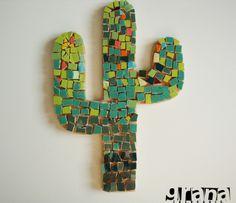 cactus en mosaiquismo - Buscar con Google