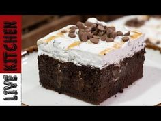 Chocolate Sweets, Chocolate Art, Delicious Desserts, Yummy Food, Yummy Yummy, Happy Foods, Greek Recipes, Kitchen Living, Youtube