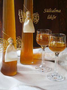 Hankka Hungarian Desserts, Hungarian Recipes, Hungarian Food, Alcoholic Drinks, Cocktails, Gourmet Gifts, Limoncello, Diy Food, Milkshake