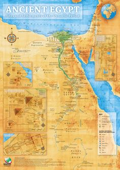 Kaart Egypte