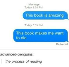 "- ""Books are a uniquely portable magic."" - Funny World Funny Relatable Memes, Funny Texts, Funny Quotes, 9gag Funny, Up Book, Book Of Life, Book Memes, Book Quotes, Book Nerd Problems"