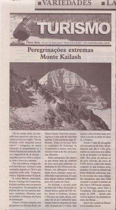 Peregrinações Extremas: Monte Kailash – Publicado em 21 de setembro de 2006