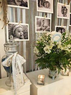 Haz que la celebración de bautizo de tu hijo sea un día perfecto con esta idea de decoración. #bautizo #decoracion