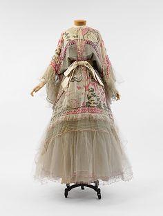 Evening dress, Zandra Rhodes, 1972.