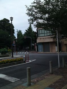 Rotary of Denenchoufu Station.  Denenchofu,Setagaya-ku.