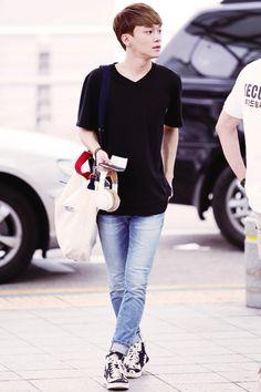 140717- EXO Chen (Kim Jongdae) @ Incheon Airport #exom #men #fashion