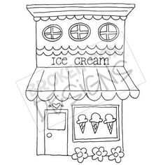 Drawing of ice boutique buildings ice cream shop hand drawn for sale drawing ice cream banane . drawing of ice ice cream 365 Kawaii, Drawing Clipart, House Quilts, Shop Front Design, Shop Window Displays, Shop Interior Design, Digi Stamps, Shop Signs, Easy Drawings