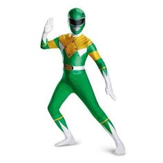 Disguise Mens Green Ranger Bodysuit Costume Teen Green Large *** Check this remarkable product by going to the web link at the picture. (This is an affiliate link). Star Wars Costumes, Boy Costumes, Super Hero Costumes, Costume Ideas, Power Rangers Movie Suits, Power Rangers Helmet, Green Power Ranger Costume, Ranger Verde, Cool Toys For Boys