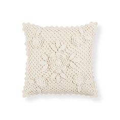 Crochet Cotton Cushion | ZARA HOME Türkiye / Turkey
