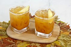 This Fall Margarita Pairs with your Fav Seasonal Flavors Thanksgiving Snacks, Thanksgiving Cocktails, Fall Cocktails, Thanksgiving 2020, Christmas Appetizers, Holiday Cocktails, Summer Drinks, Fun Drinks Alcohol, Alcohol Drink Recipes